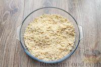 Фото приготовления рецепта: Песочное печенье с вишней, овсяными хлопьями, миндалём и шоколадом - шаг №7