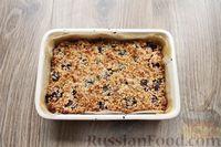 Фото приготовления рецепта: Песочное печенье с вишней, овсяными хлопьями, миндалём и шоколадом - шаг №16