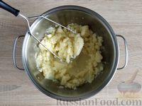 Фото приготовления рецепта: Картофельные клёцки с зеленью (без муки) - шаг №5