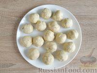 Фото приготовления рецепта: Картофельные клёцки с зеленью (без муки) - шаг №10