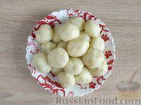 Фото приготовления рецепта: Картофельные клёцки с зеленью (без муки) - шаг №12