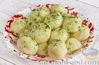 Фото приготовления рецепта: Картофельные клёцки с зеленью (без муки) - шаг №14