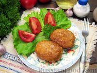 Фото приготовления рецепта: Мясные котлеты с овсяными хлопьями и соевым соусом - шаг №11