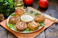 Фото приготовления рецепта: Куриные котлеты с брокколи - шаг №10