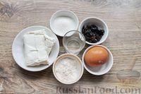 Фото приготовления рецепта: Быстрая творожная запеканка с изюмом (в микроволновке) - шаг №1