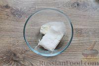 Фото приготовления рецепта: Быстрая творожная запеканка с изюмом (в микроволновке) - шаг №3