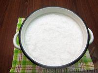 Фото приготовления рецепта: Кокосовое молоко из кокосовой стружки - шаг №4