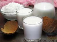 Фото приготовления рецепта: Кокосовое молоко из кокосовой стружки - шаг №10