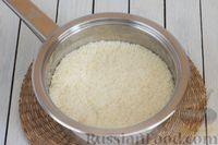 Фото приготовления рецепта: Кускус с кабачками, стручковой фасолью и вешенками - шаг №8