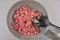 Фото приготовления рецепта: Песочные творожные рулетики-улитки с ветчиной и сыром - шаг №8