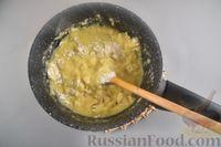 Фото приготовления рецепта: Сырные профитроли - шаг №4