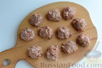 Фото приготовления рецепта: Кабачки с помидорами и фаршем, запеченные со сметаной и кетчупом - шаг №6