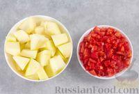 Фото приготовления рецепта: Гаспачо с дыней и овощами - шаг №2