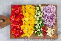 Фото приготовления рецепта: Гаспачо с дыней и овощами - шаг №4