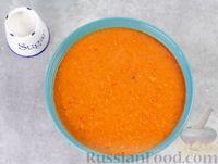 Фото приготовления рецепта: Гаспачо с дыней и овощами - шаг №9