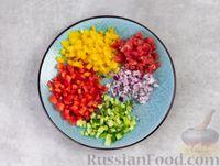 Фото приготовления рецепта: Гаспачо с дыней и овощами - шаг №3