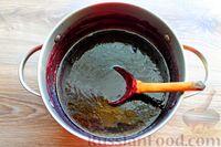 Фото приготовления рецепта: Варенье из черники и чёрной смородины - шаг №6