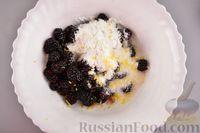 Фото приготовления рецепта: Насыпной пирог с ежевикой - шаг №8