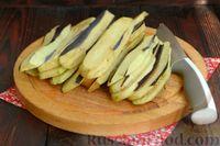 Фото приготовления рецепта: Жареные баклажаны с ореховым соусом - шаг №2