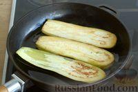 Фото приготовления рецепта: Жареные баклажаны с ореховым соусом - шаг №3