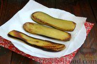 Фото приготовления рецепта: Жареные баклажаны с ореховым соусом - шаг №5