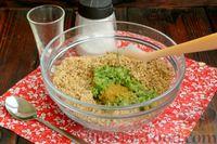 Фото приготовления рецепта: Жареные баклажаны с ореховым соусом - шаг №9