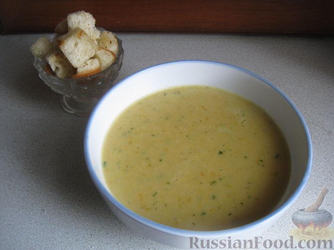 Суп пюре из овощей в блендере