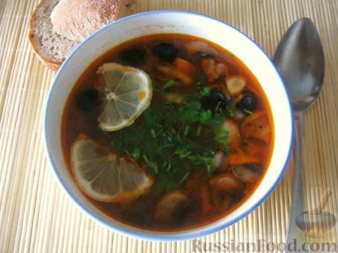 солянка грибная с картошкой рецепт