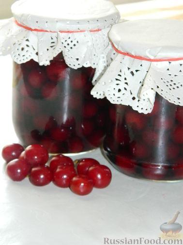Рецепт Маринованная вишня
