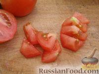 """Фото приготовления рецепта: Жареные кабачки """"Тещин язык"""" - шаг №5"""