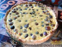 Фото к рецепту: Пирог с луком-шалотом