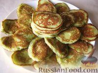 Фото к рецепту: Сладкие оладьи из кабачков