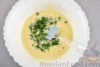 Фото приготовления рецепта: Яичный рулет с творогом и начинкой из сладкого перца - шаг №8
