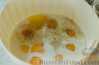 Фото приготовления рецепта: Киш с брокколи в яично-сырной заливке и беконом - шаг №5