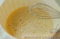 Фото приготовления рецепта: Киш с брокколи в яично-сырной заливке и беконом - шаг №6