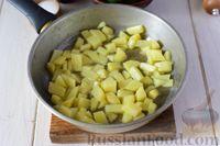 Фото приготовления рецепта: Крем-суп из свежих огурцов и картофеля - шаг №3