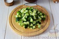 Фото приготовления рецепта: Крем-суп из свежих огурцов и картофеля - шаг №6
