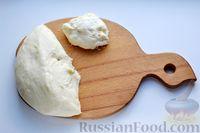 Фото приготовления рецепта: Дрожжевой пирог с малосольными огурцами и варёными яйцами - шаг №19