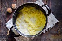 """Фото приготовления рецепта: Картофельная запеканка с фаршем """"Пастуший пирог"""" - шаг №4"""