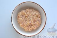 Фото приготовления рецепта: Суп с куриными фрикадельками, кабачками и вермишелью - шаг №5