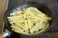 Фото приготовления рецепта: Картошка, жаренная со сладким перцем - шаг №8