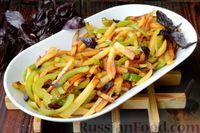 Фото приготовления рецепта: Картошка, жаренная со сладким перцем - шаг №12