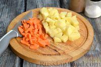 Фото приготовления рецепта: Суп с куриными желудками, цветной капустой и кускусом - шаг №5