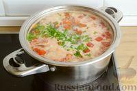 Фото приготовления рецепта: Суп с куриными желудками, цветной капустой и кускусом - шаг №12