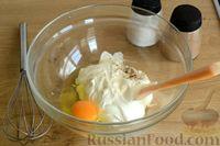 Фото приготовления рецепта: Открытые дрожжевые пироги с луком, ветчиной и сыром - шаг №11