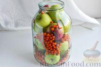 Фото приготовления рецепта: Компот из яблок и облепихи - шаг №11