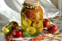 Фото приготовления рецепта: Компот из яблок и облепихи - шаг №17