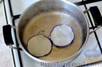 Фото приготовления рецепта: Варенье из слив, фаршированных грецкими орехами - шаг №4