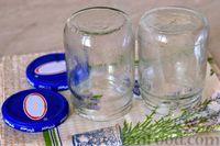 Фото приготовления рецепта: Варенье из слив, фаршированных грецкими орехами - шаг №5