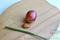 Фото приготовления рецепта: Варенье из слив, фаршированных грецкими орехами - шаг №8